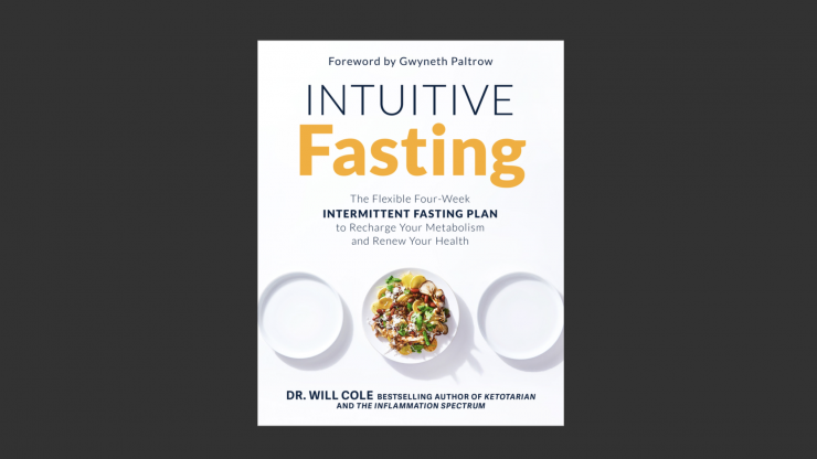 Intuitive Fasting by Dr. Will Cole Book Cover