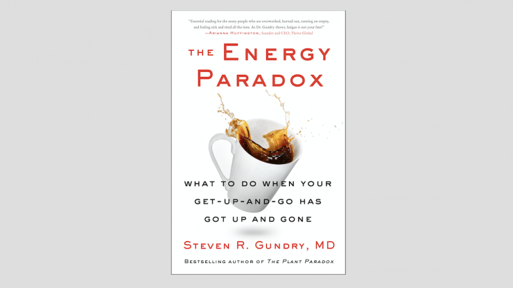 "Cover of ""The Energy Paradox"" by Dr. Steven Gundry"