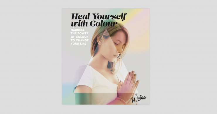 Cover of Heal Yourself With Color by Walaa